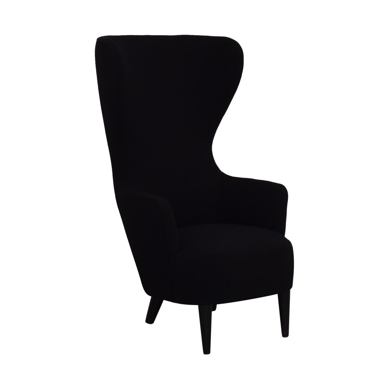 Tom Dixon Tom Dixon Wingback Black Leg Hallingdal 65 Chair price
