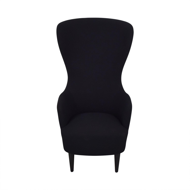 Tom Dixon Wingback Black Leg Hallingdal 65 Chair sale