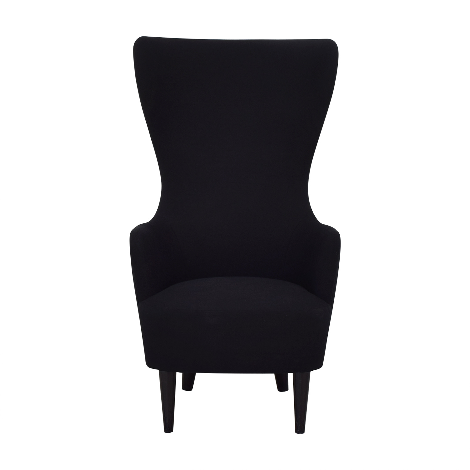 Tom Dixon Tom Dixon Wingback Black Leg Hallingdal 65 Chair Accent Chairs