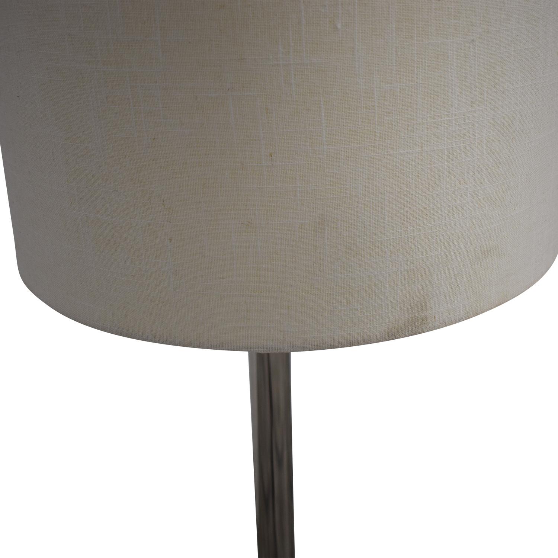 shop Crate & Barrel Claire Floor Lamp Crate & Barrel