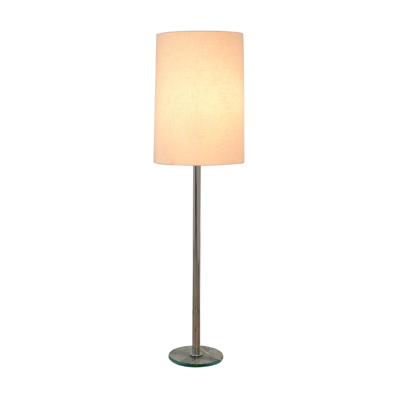 buy Crate & Barrel Claire Floor Lamp Crate & Barrel Lamps
