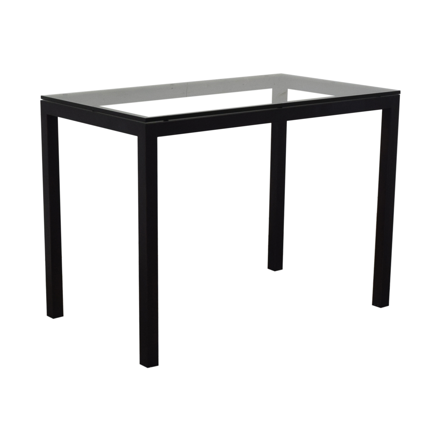Crate & Barrel Crate & Barrel Parsons High Dining Table on sale