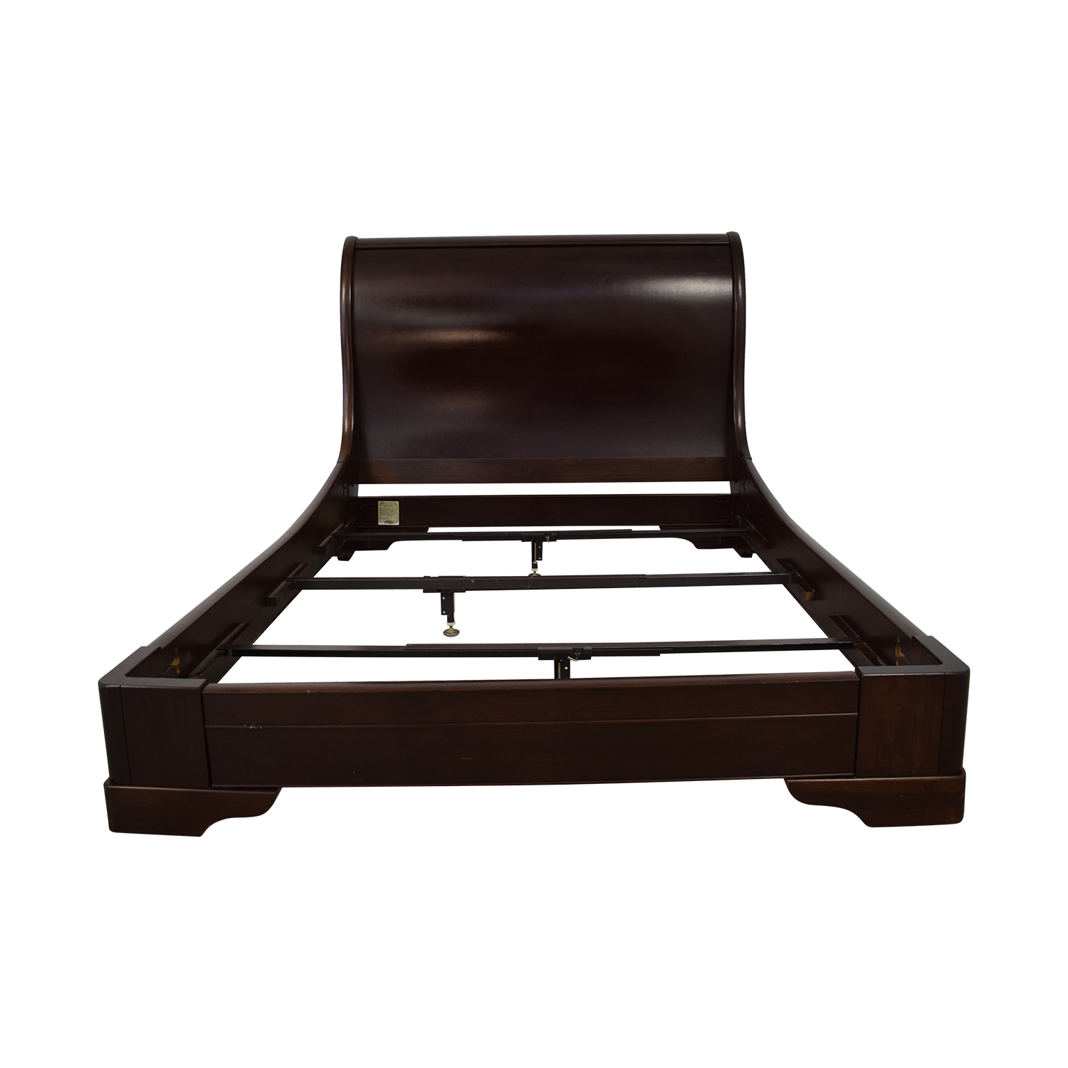 Restoration Hardware Restoration Hardware Mareston Queen Sleigh Bed nj