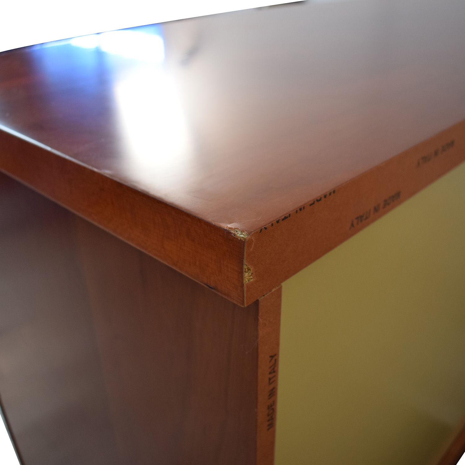 Italian Wood Dresser brown