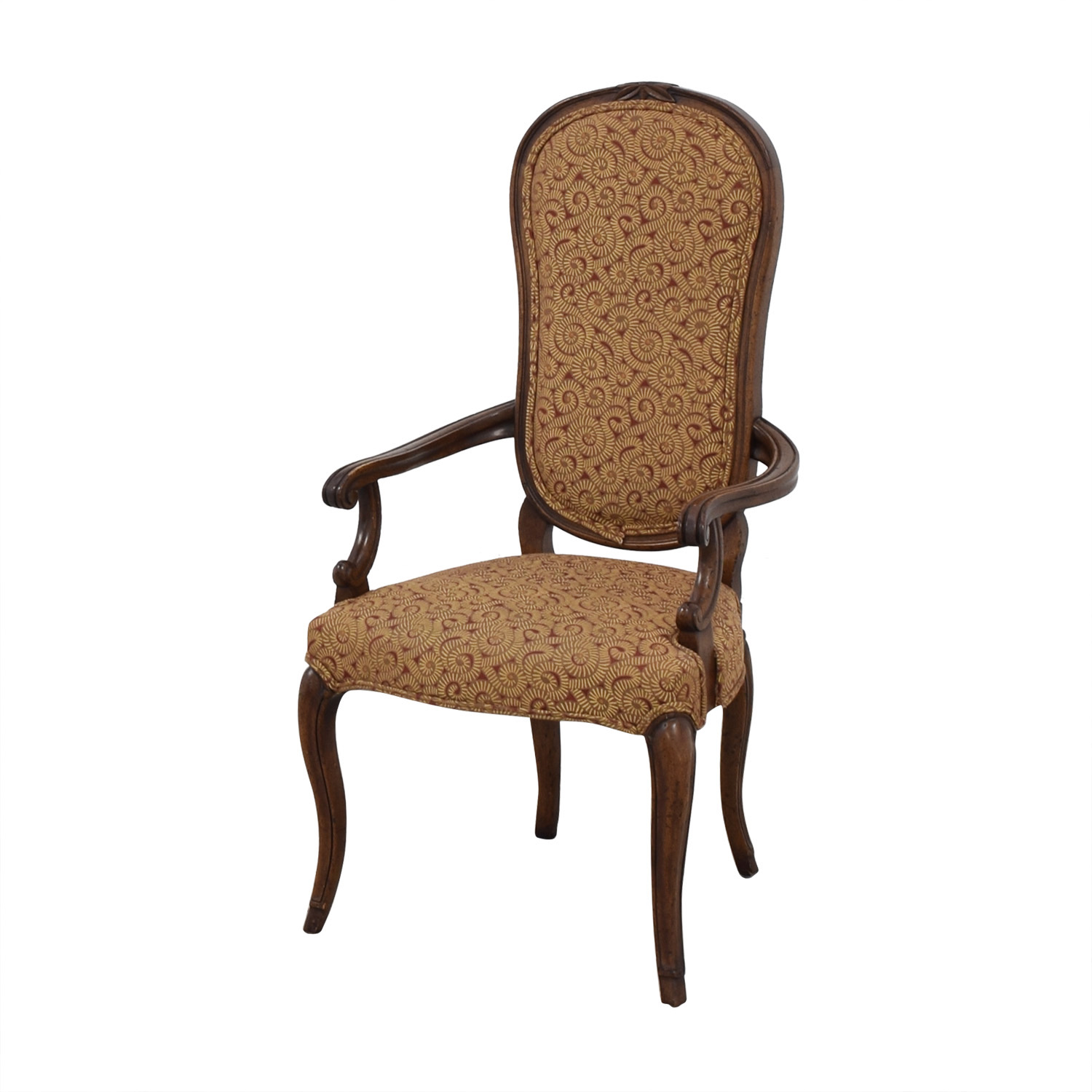 73% OFF   Print Upholstered Dining Chairs / Chairs