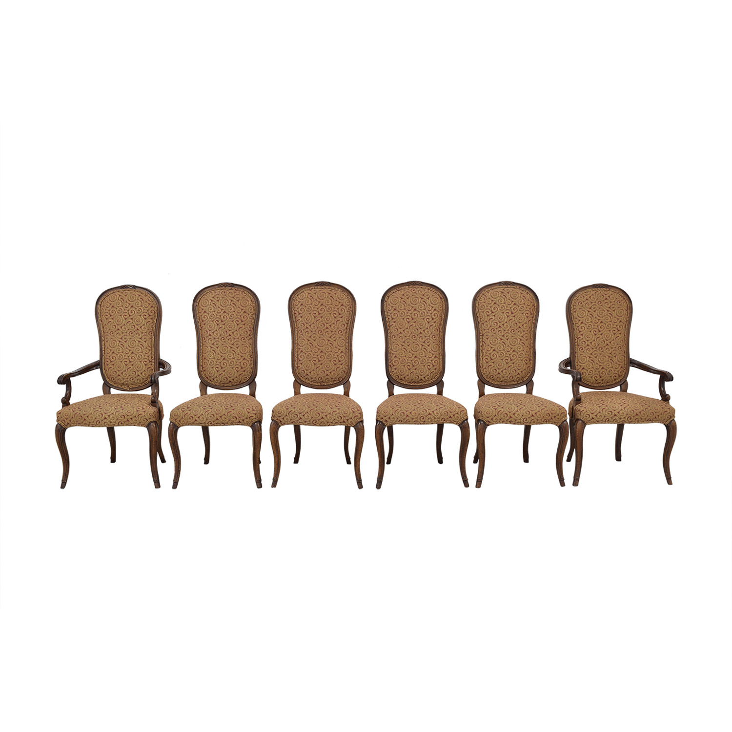 shop Print Upholstered Dining Chairs  Chairs