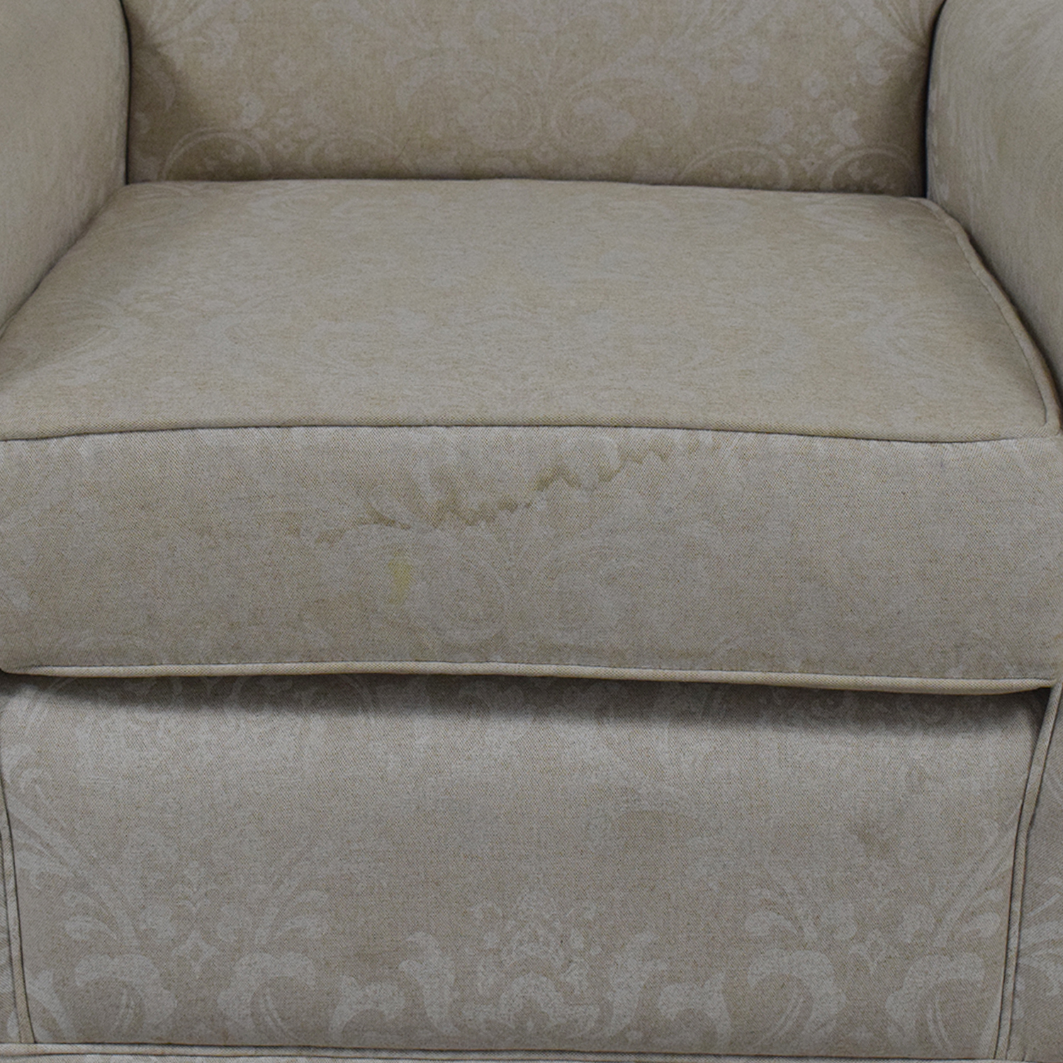 buy Slipcover Glider Chair and Ottoman