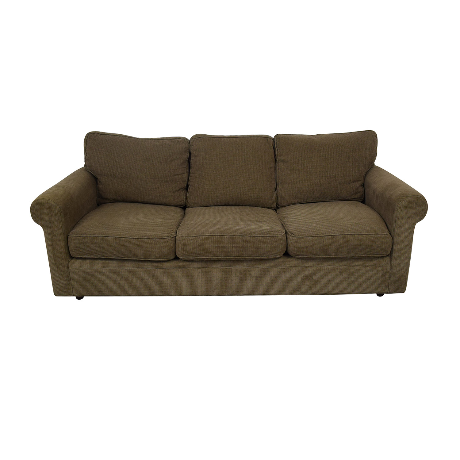 Crate & Barrel Crate & Barrel 3-Seat Rolled Arm Sofa on sale