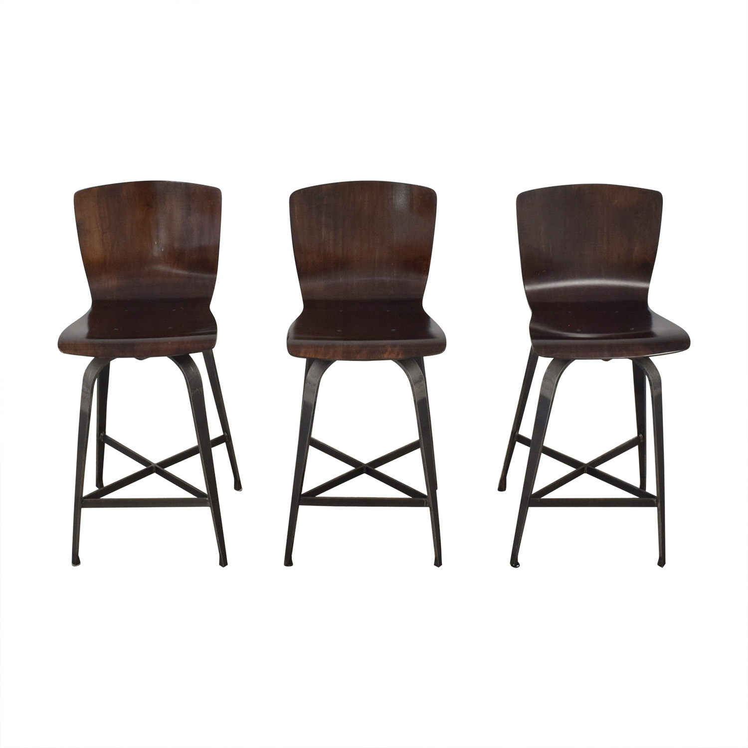 Astounding 65 Off Charleston Forge Charleston Forge Fresno Swivel Counterstools Chairs Lamtechconsult Wood Chair Design Ideas Lamtechconsultcom