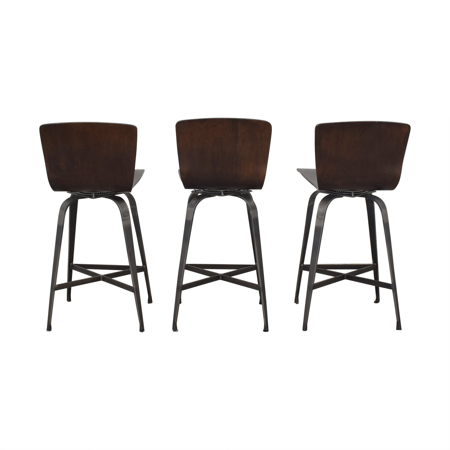 Charleston Forge Charleston Forge Fresno Swivel Counterstools Chairs