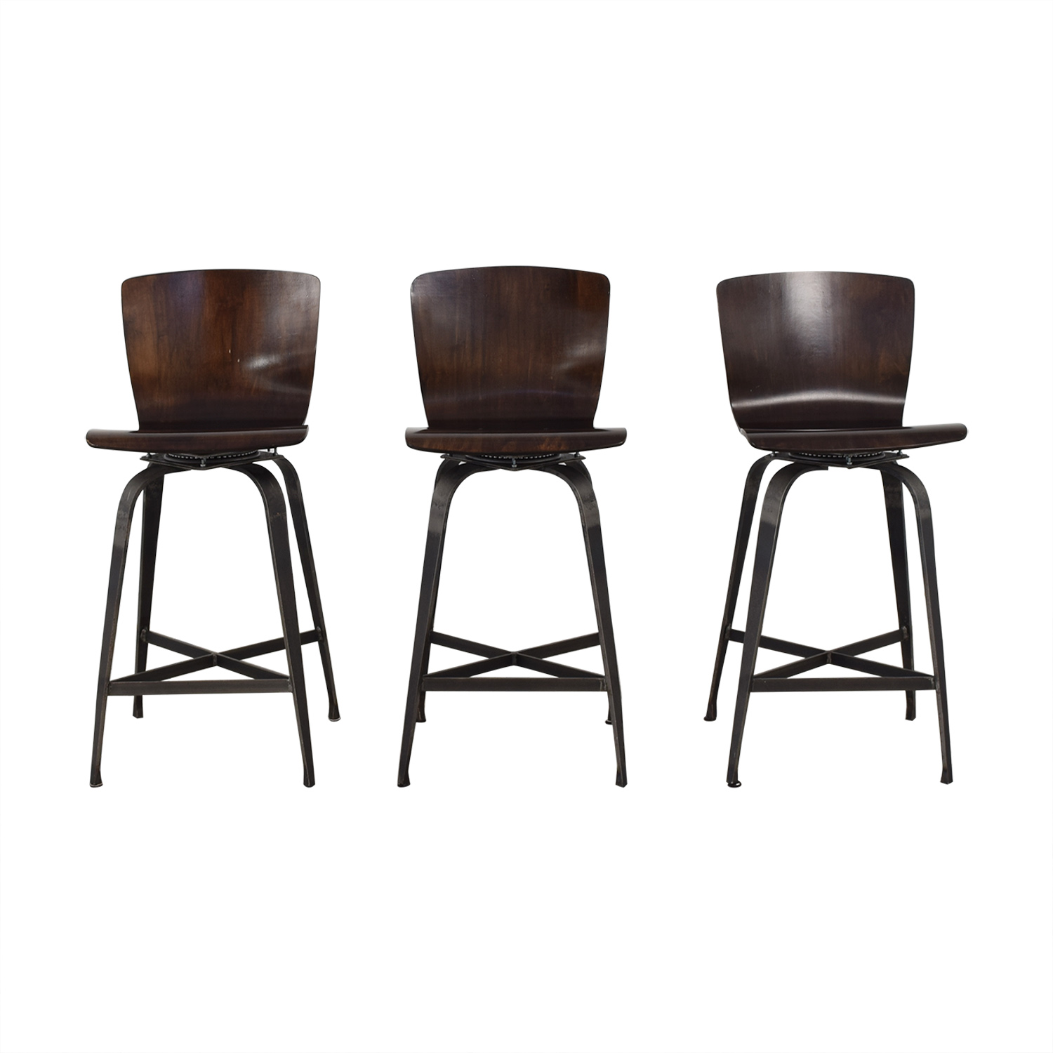 shop Charleston Forge Fresno Swivel Counterstools Charleston Forge Chairs