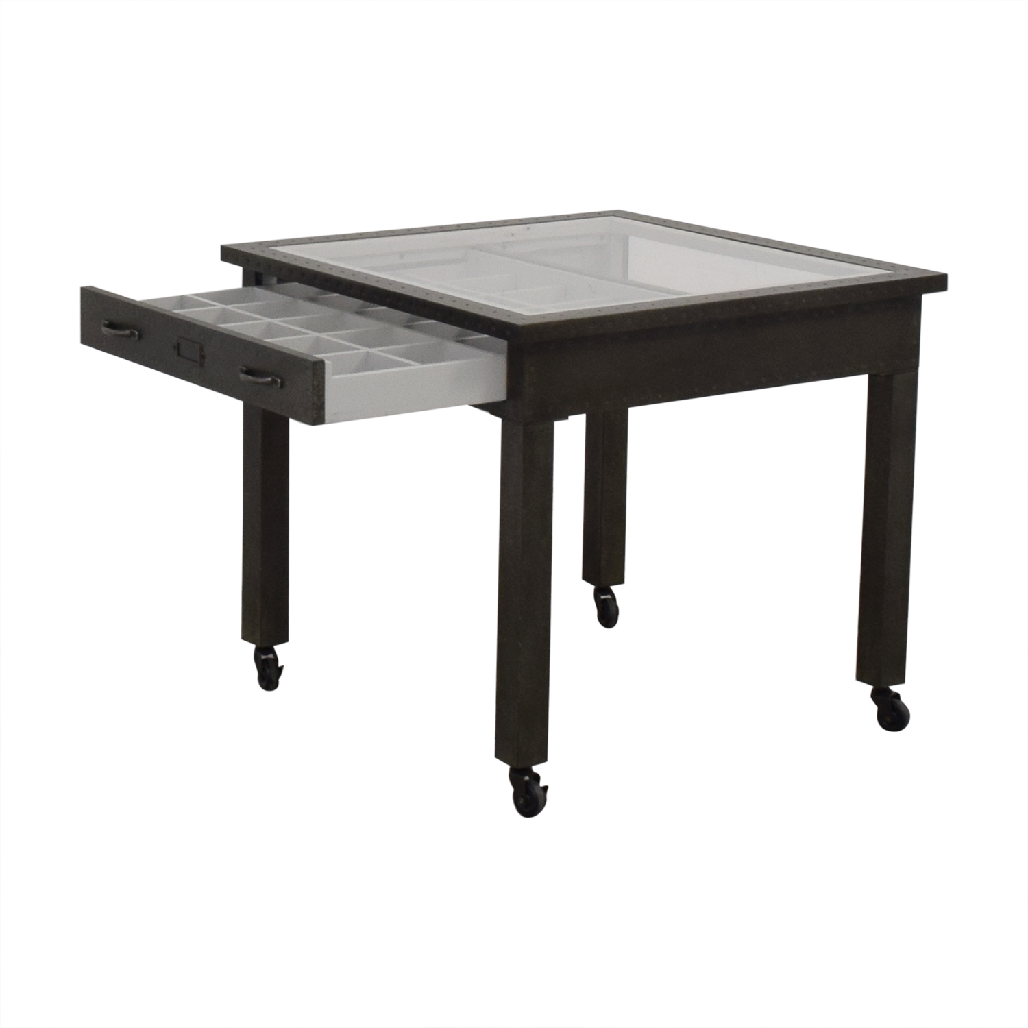 Restoration Hardware Restoration Hardware Vintage Curator Play Table dimensions