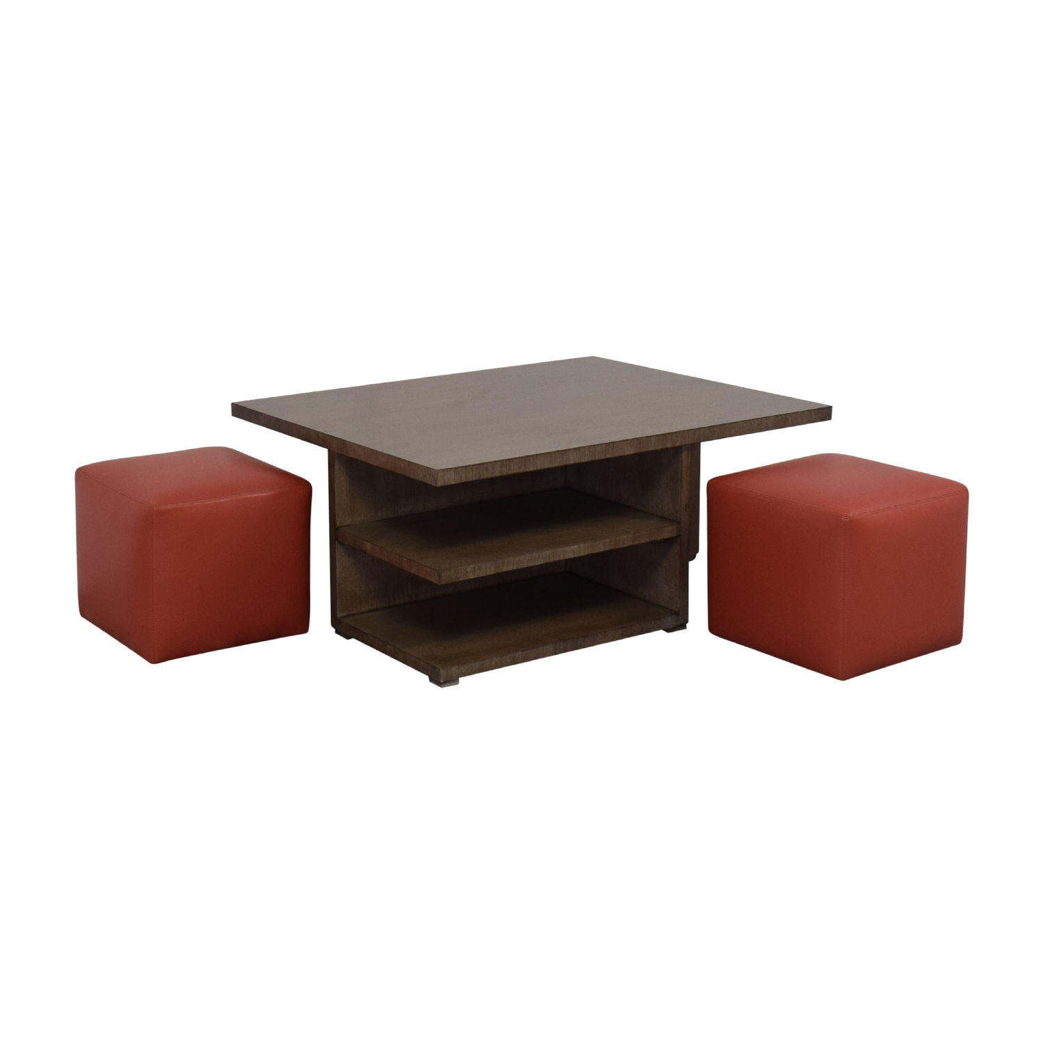 Exceptionnel 71% OFF   CTH Sherrill Occasional Furniture CTH Sherrill Occasional  Furniture Cocktail Table With Ottomans / Tables
