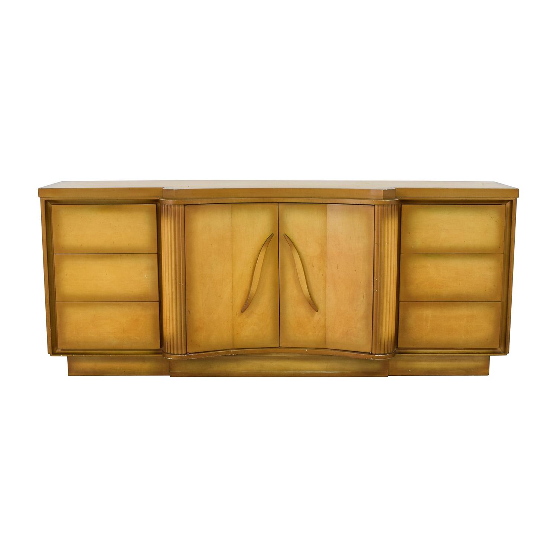 shop Detroit Furniture Distributing Evergreen Nine Drawer Dresser Detroit Furniture Distributing Co. Dressers