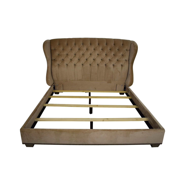 Arhaus Mariah Tufted King Bed / Beds