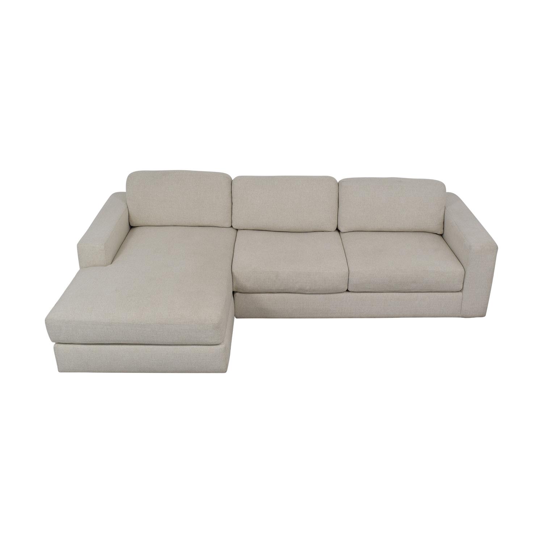 West Elm West Elm Urban 2-Piece Chaise Sofa second hand
