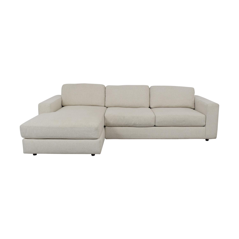 West Elm West Elm Urban 2-Piece Chaise Sofa nyc