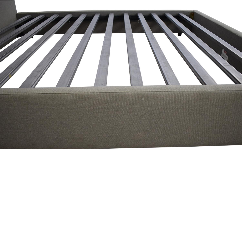 buy Room & Board Upholstered King Bed Frame Room & Board