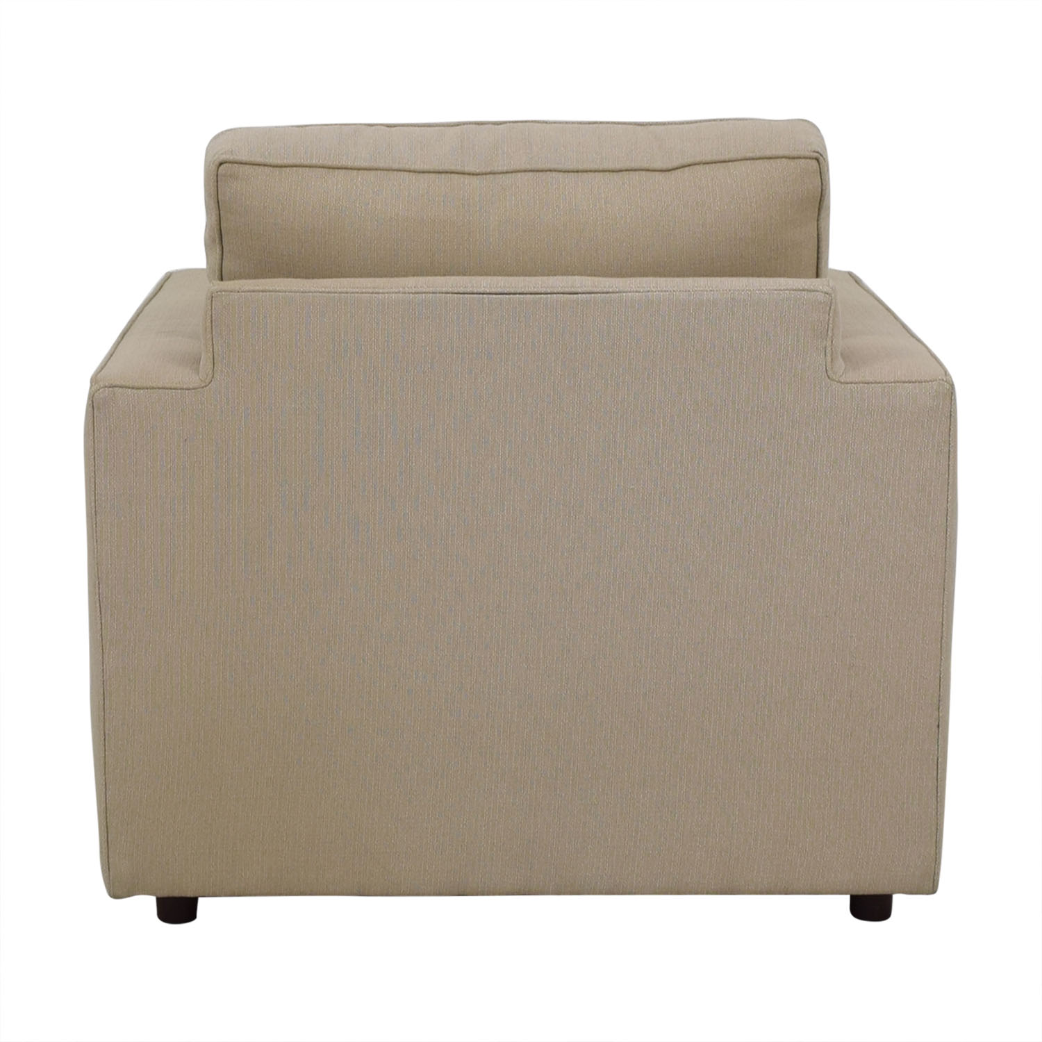 Attrayant 68% OFF   Room U0026 Board Room And Board York Chair And Ottoman / Chairs