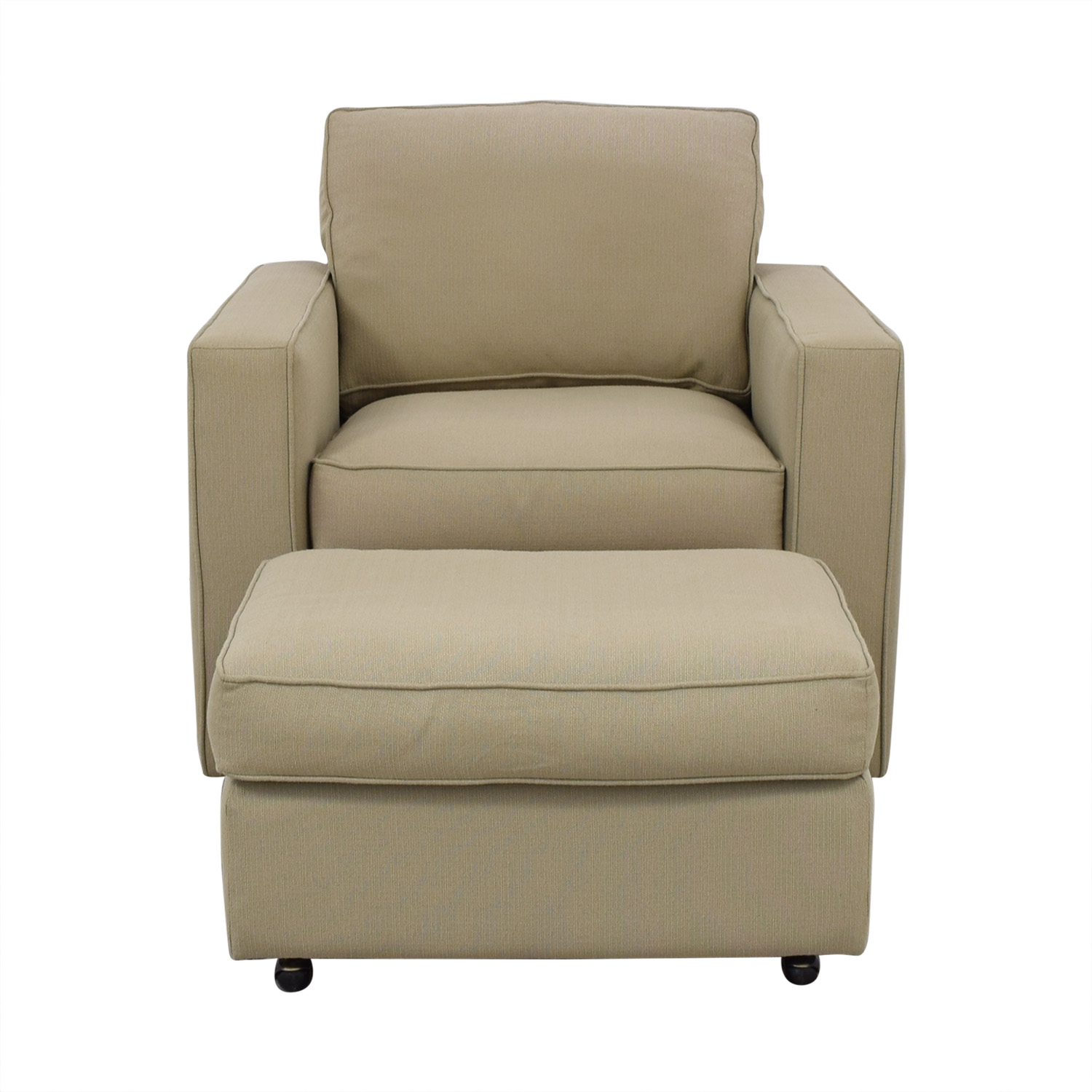 buy Room and Board York Chair and Ottoman Room & Board