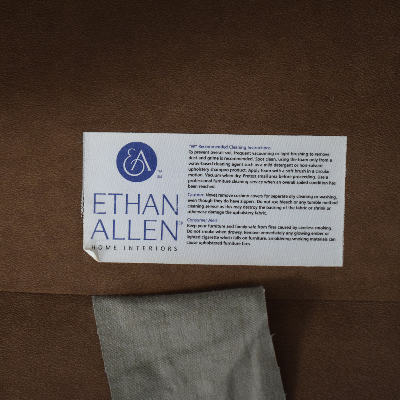 Ethan Allen Ethan Allen Devonshire Swivel Glider & Ottoman on sale