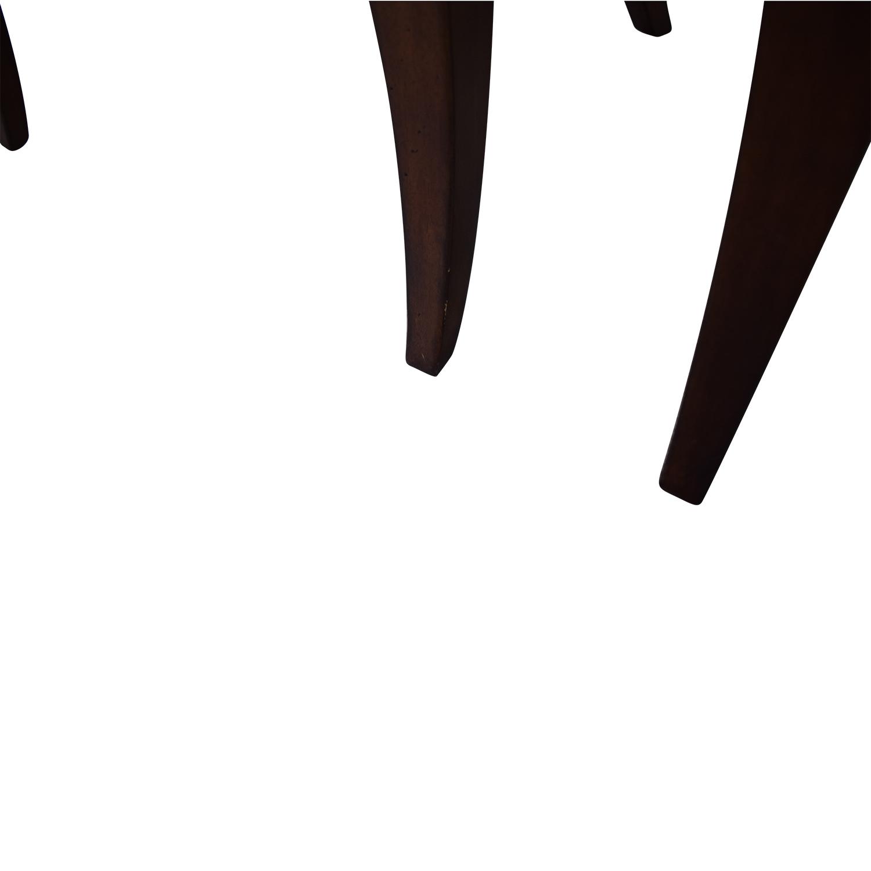 Bassett Furniture Bassett Furniture Upholstered Side Chairs brown