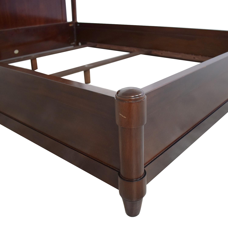 Baker Furniture Art Deco Queen Bed / Bed Frames