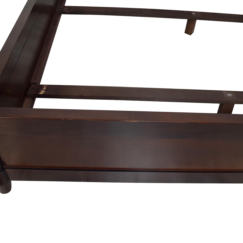 Baker Furniture Baker Furniture Art Deco Queen Bed dark brown