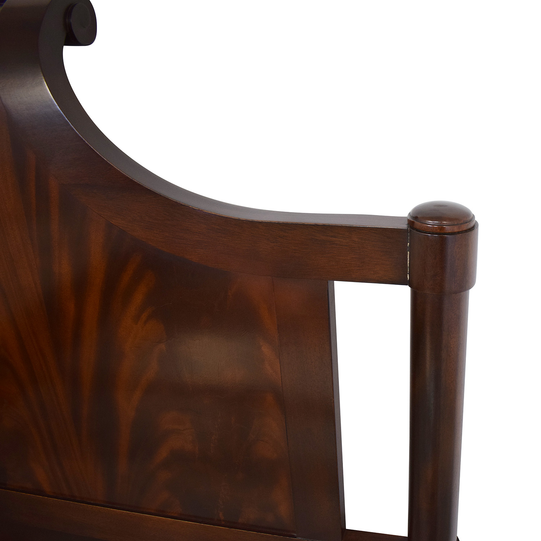 shop Baker Furniture Art Deco Queen Bed Baker Furniture Beds