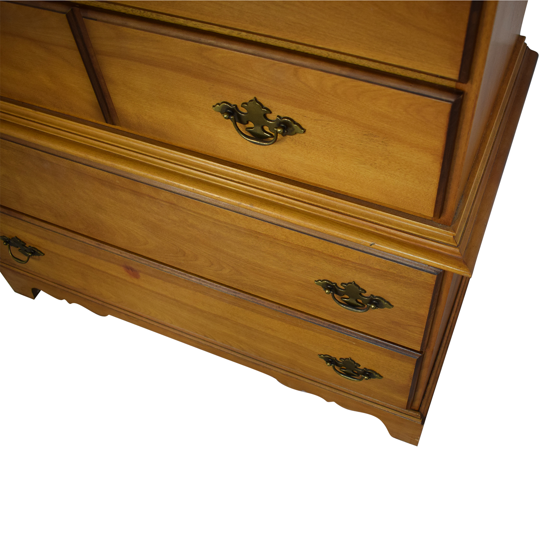 Six Drawer Dresser light brown