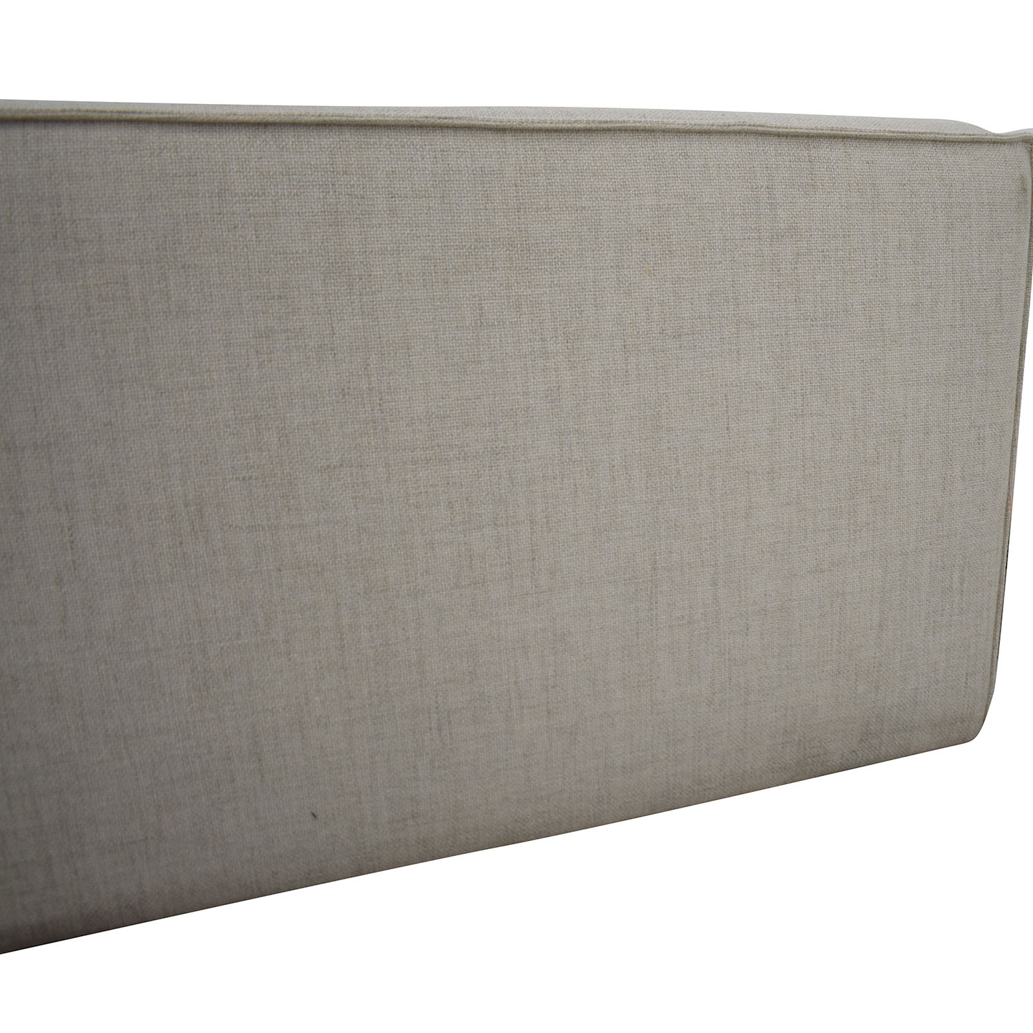 buy Interior Define White One-Arm High Sofa Interior Define