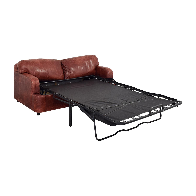 Leather Sleeper Sofa / Sofa Beds
