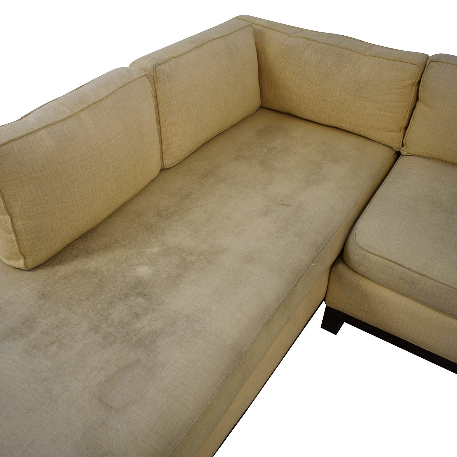 Mitchell Gold + Bob Williams Mitchell Gold + Bob Williams Clifton Chaise Sectional Sofa discount