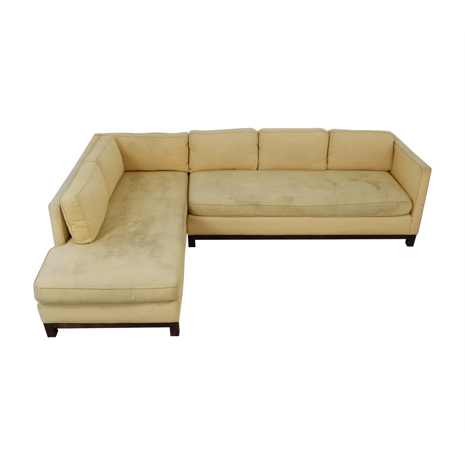 shop Mitchell Gold + Bob Williams Clifton Chaise Sectional Sofa Mitchell Gold + Bob Williams