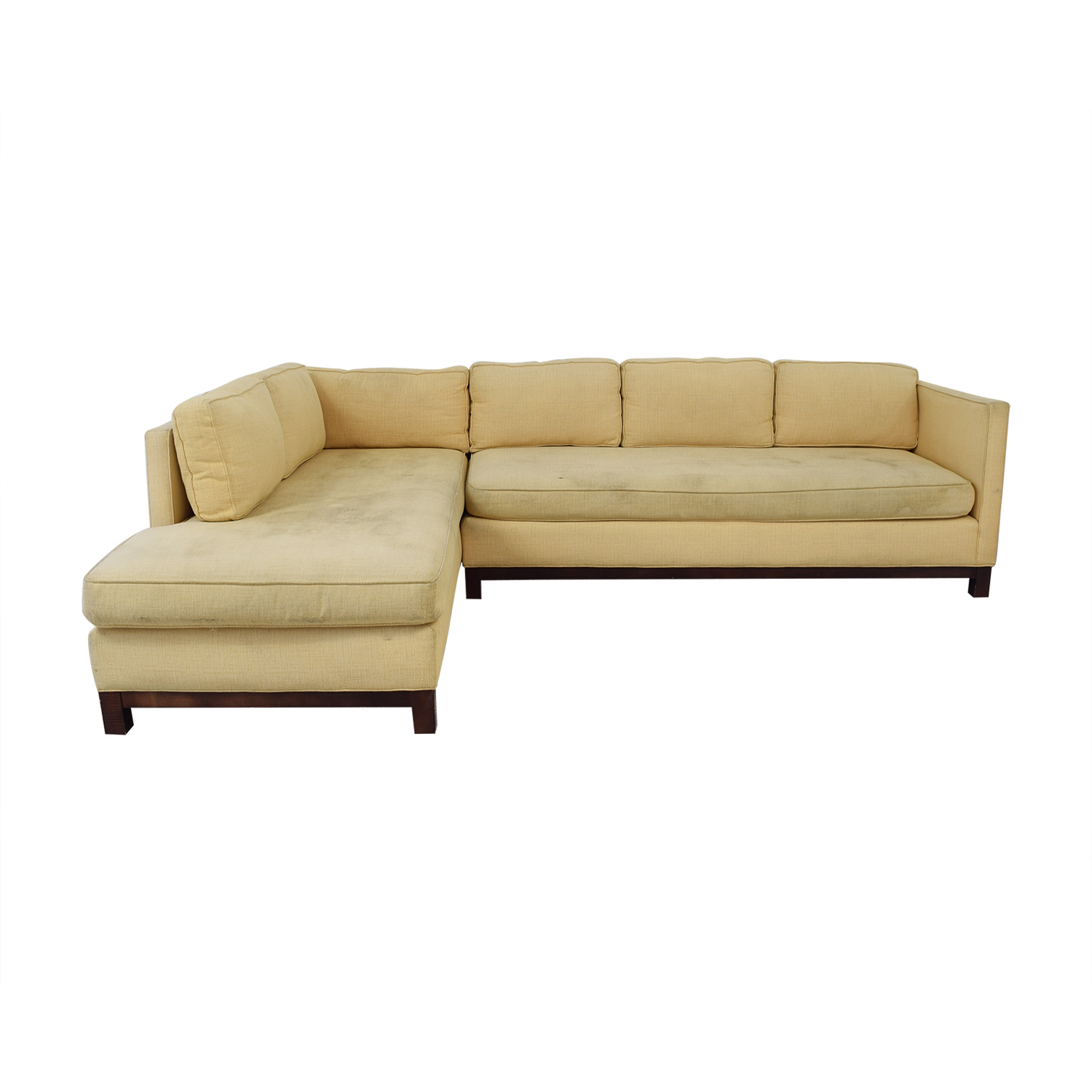 Mitchell Gold + Bob Williams Clifton Chaise Sectional Sofa / Sofas