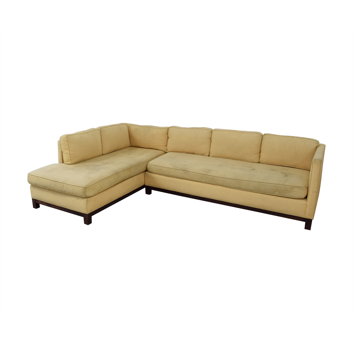 Mitchell Gold + Bob Williams Mitchell Gold + Bob Williams Clifton Chaise Sectional Sofa used