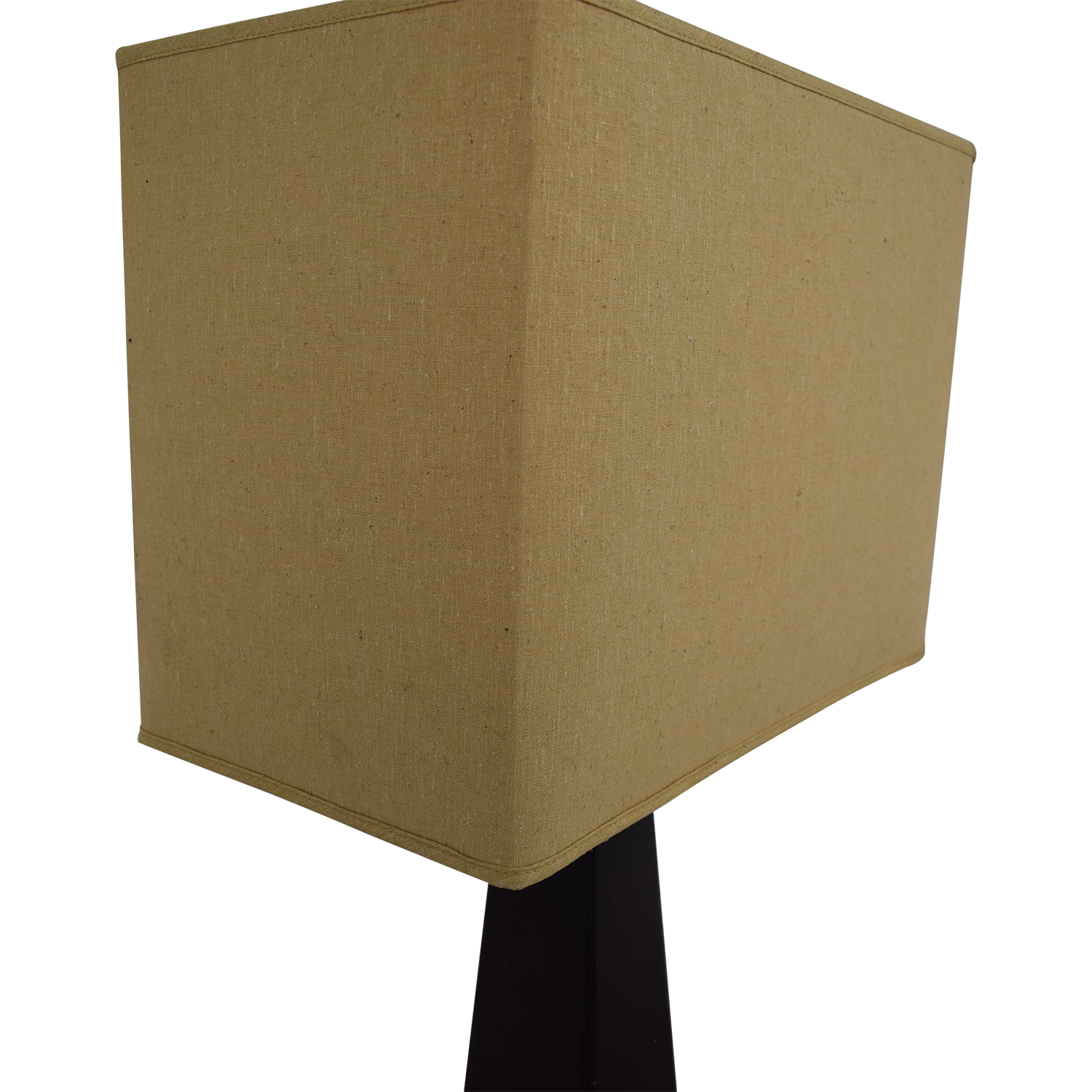 buy Tarogo Triangular Wood Base Floor Lamp Tarogo