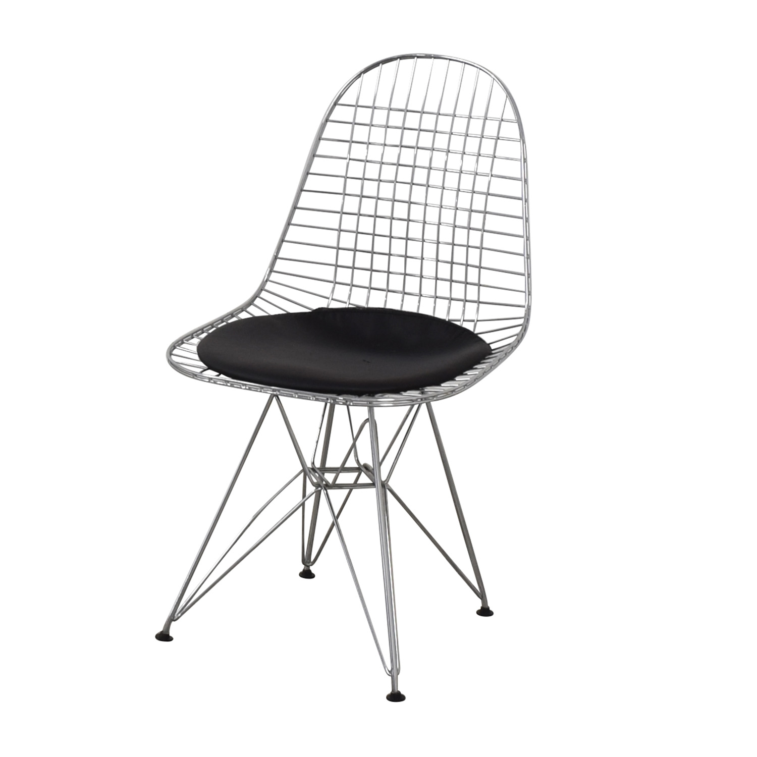 Herman Miller Herman Miller Eames Wire Chair with Seat Pad