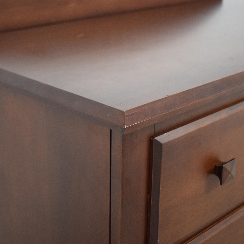 Ethan Allen Ethan Allen Five-Drawer Dresser brown