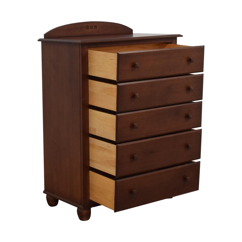 shop Ethan Allen Five-Drawer Dresser Ethan Allen Storage