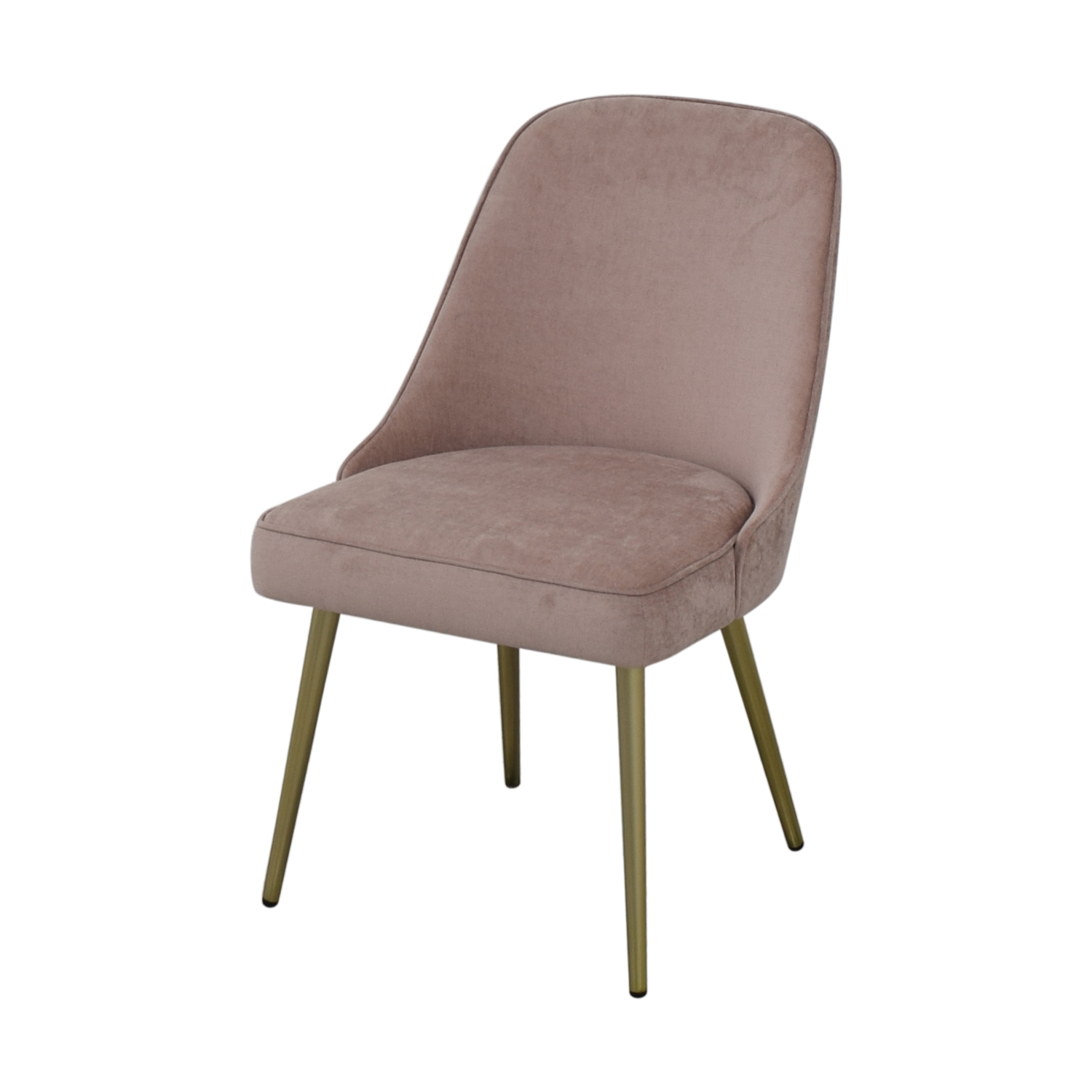 West Elm West Elm Mid Century Upholstered Dining Chairs for sale