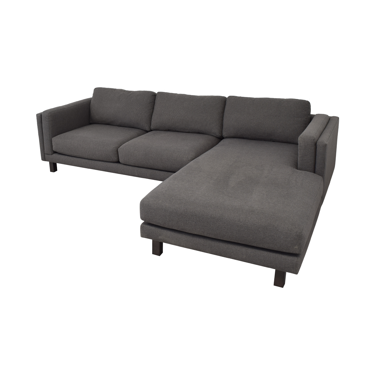 buy Room & Board Holden Sofa with Right-Arm Chaise Room & Board Sectionals