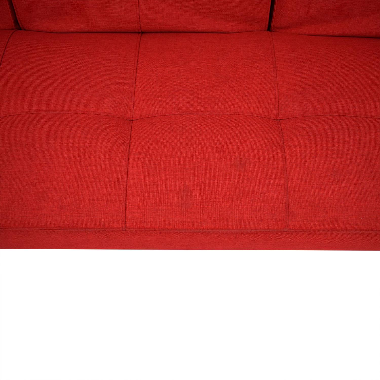 Room & Board Room & Board Eden Convertible Sofa dimensions