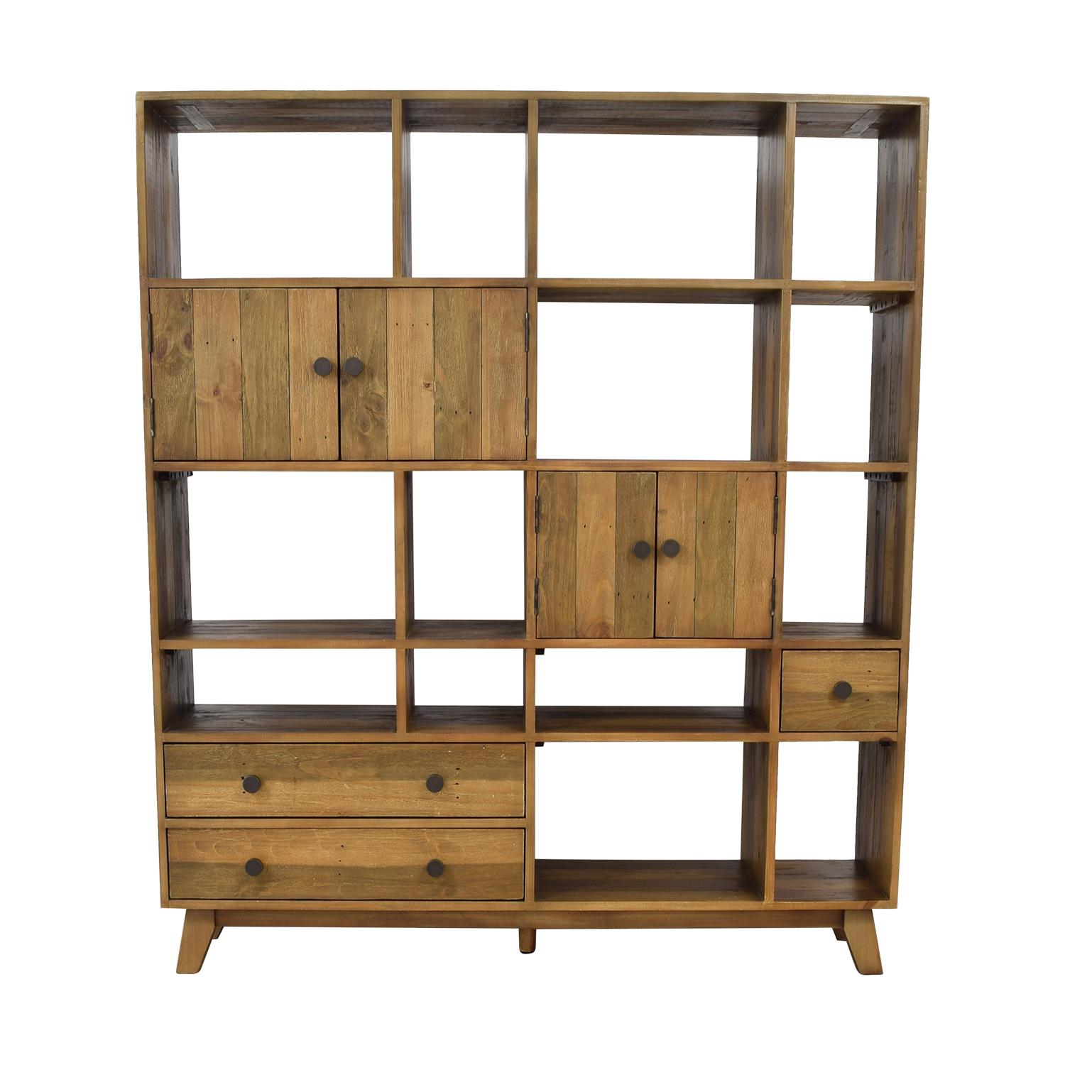 Birch Lane Samuel Geometric Bookcase sale