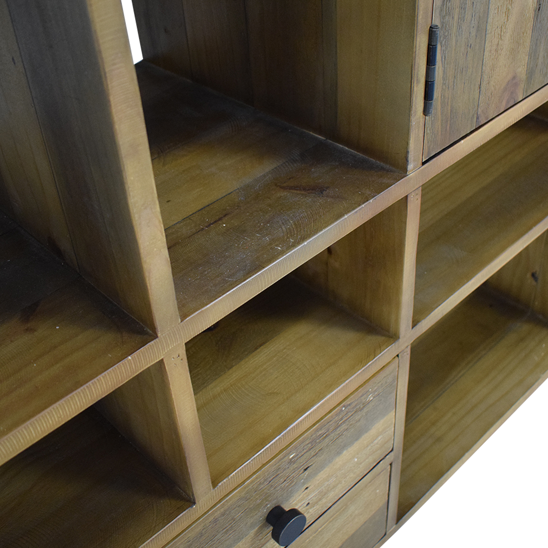 Birch Lane Birch Lane Samuel Geometric Bookcase Bookcases & Shelving