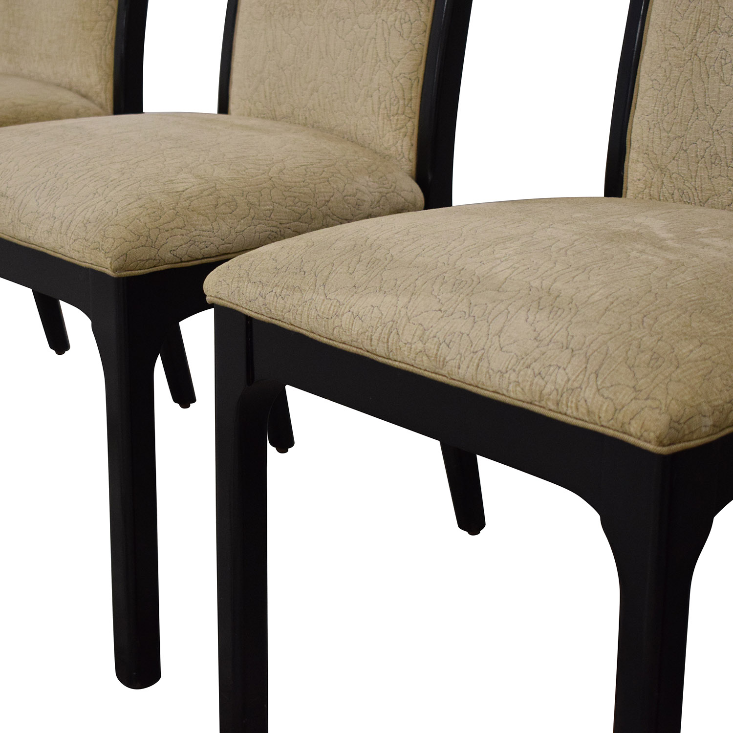 Baker Furniture Baker Furniture Upholstered Dining Chairs second hand