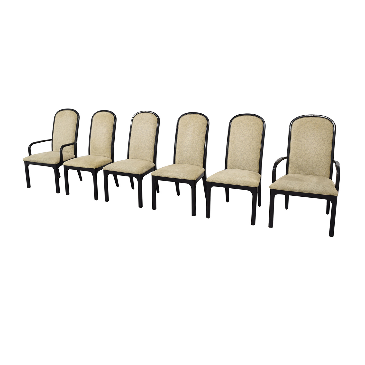 Baker Furniture Baker Furniture Upholstered Dining Chairs Dining Chairs