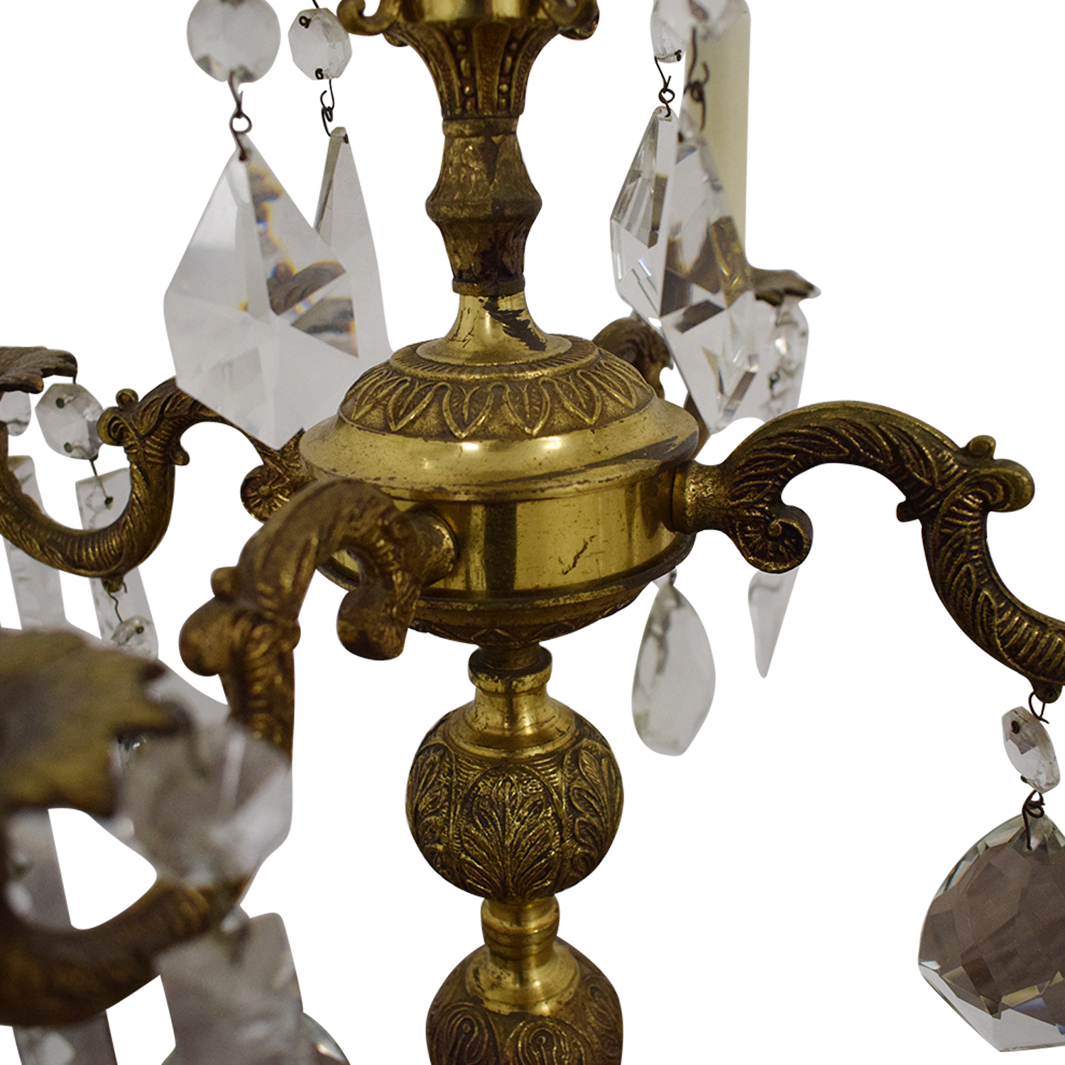 Chandelier Style Table Lamp dimensions