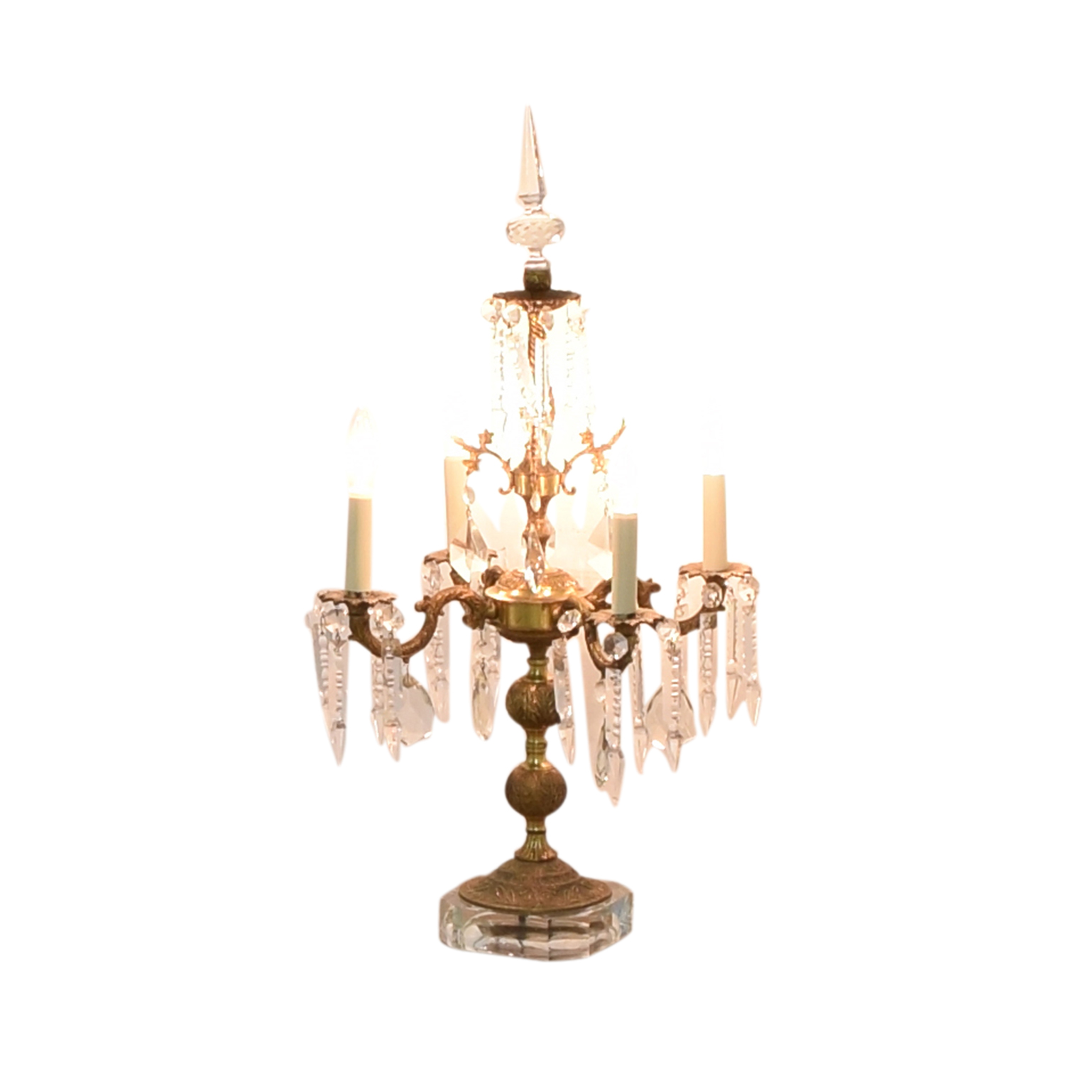 86 Off Chandelier Style Table Lamp