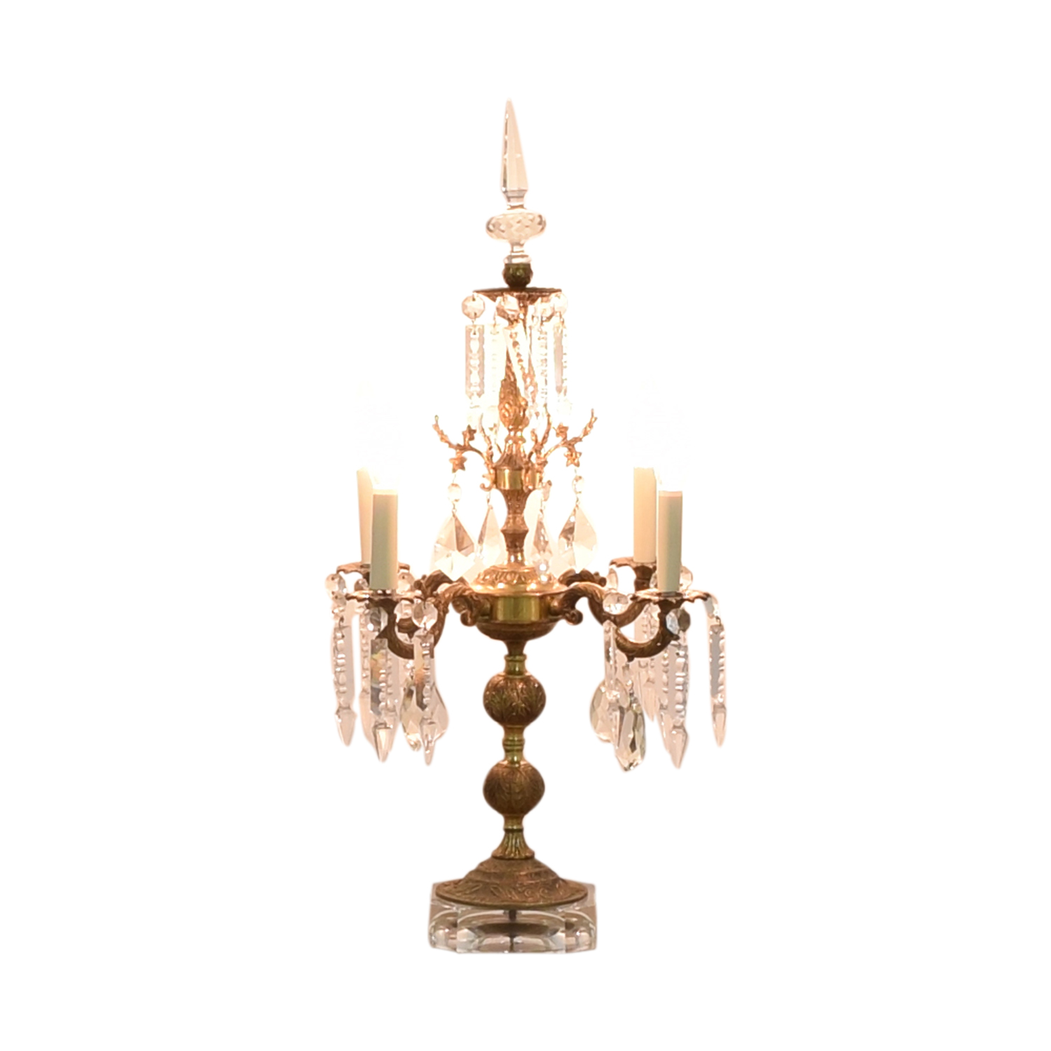 Chandelier Style Table Lamp ma